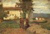 Silvestro Lega, Contadinelli al sole, seconda metà del XIX secolo, Dipinto, Collezione privata