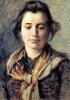Silvestro Lega, Giovane contadina del Gabbro, seconda metà del XIX secolo, Dipinto