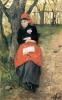 Silvestro Lega, Il riposo, la signora Bandini, 1887, Dipinto