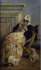 Silvestro Lega, La ricamatrice, seconda metà del XIX secolo, Dipinto, Collezione privata, Montecatini