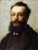 Silvestro Lega, Ritratto di Angelo De Vico, 1880, Dipinto