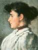 Silvestro Lega, Ritratto di Giulia Bandini, 1893, Dipinto