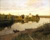 Isaak Ilich Levitan (1860-1900):  Campane della sera, 1892, olio su tela, cm. 87 x 107,6, Mosca, Galleria Tretyakov