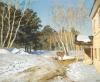 Isaak Ilich Levitan (1860-1900): Marzo, 1895, olio su tela, cm. 61 x 76, Mosca, Galleria Tretyakov inv. n. Инв.1489