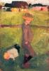 Paula Modersohn-Becker, Bambini nel prato, 1902 circa, Fondazione per la cultura Kurt e Barbara Alten, Museo Castello San Materno, Ascona