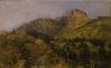 Angelo Morbelli, Montagne, Collezione privata in deposito nel Museo Civico e Gipsoteca Bistolfi, Casale Monferrato