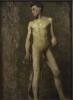 Angelo Morbelli, Nudo maschile, Collezione privata in deposito nel Museo Civico e Gipsoteca Bistolfi, Casale Monferrato