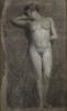 Angelo Morbelli, Studio di nudo donna, Collezione privata in deposito nel Museo Civico e Gipsoteca Bistolfi, Casale Monferrato