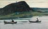 Mikhail Vasilyevich Nesterov (1862-1942): Silenzio, 1903, olio su tela, 71,2 x 116, Galleria Tretyakov