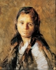 Giuseppe Pellizza da Volpedo, Ritratto della moglie, Olio su tela, Collezione privata
