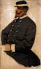 Antonio Puccinelli, Ritratto di ufficiale, olio su tela, Galleria d'Arte Moderna, Firenze