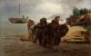 Repin, Battellieri che attraversano un guado.jpg