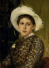 Viktor Mikhaylovich Vasnetsov (1848-1926): Ritratto di Tatiana Anatolievna Mamontova [dettaglio]