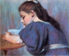 Federico Zandomeneghi, Bambina che legge