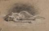 Federico Zandomeneghi, Nudo femminile sdraiato