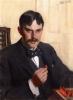Zorn, Ritratto maschile | Mans porträtt | Male portrait, 1899