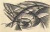 Giacomo Balla, Linea di velocità + vortice [1913-1914]