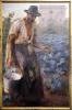 Giacomo Balla, Polittico dei viventi: Il contadino