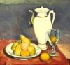 Émile Bernard, Natura morta con brocca bianca | Nature morte à la cruche blanche | Still life with white pitcher