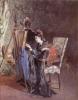 Bianchi Mosè, La pittrice | The painter