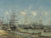 Boudin, Bordeaux, il porto | Bordeaux: le port | Bordeaux: the port