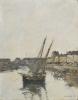 Boudin, Il porto di Trouville | Le port de Trouville | The harbour of Trouville