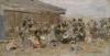 Boudin, Spiaggia di Trouville [1890].jpg