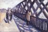 Caillebotte, Il ponte dell'Europa. Studio   Étude pour 'Le pont de l'Europe'   Study for 'The Europe bridge'