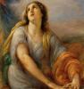 Giovanni Carnovali (detto il Piccio), Agar nel deserto è persuasa dall'angelo a tornare indietro [dettaglio]