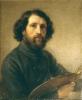 Giovanni Carnovali (detto il Piccio), Autoritratto con tavolozza [1847-48 circa]