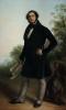 Giovanni Carnovali (detto il Piccio), Ritratto del conte Pietro Andrea Spini