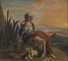 Cezanne, Agar nel deserto, da Delacroix.jpg