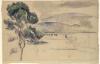 Cezanne, La valle dell'Arc con viadotto e pino.png