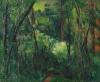 Cézanne, Sottobosco | Sous-bois | Interior of a forest