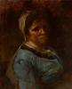 Courbet, Donna dipinta a Palavas | Femme peinte à Palavas | Woman painted at Palavas