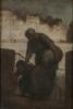 Honoré Victorin Daumier, Una lavandaia al Quai d'Anjou   Une laveuse au Quai d'Anjou   Laundress on the Quai d'Anjou
