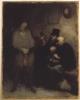 Honoré Victorin Daumier, Una sala d'attesa   Une salle d'attente   The waiting room