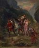 Eugène Delacroix, Angelica e Medoro ferito | Angelique et Medoro blessé |