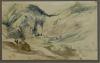 Eugène Delacroix, Pesaggio montuoso (Les Eaux-Bonnes nei Pirenei ?)