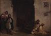 Eugène Delacroix, Strada a Meknes   Rue à Meknès   Street in Meknes