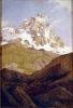 Lorenzo Delleani, Veduta del monte Cervino