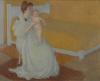 Denis, Madre e bambino con letto giallo.jpg