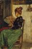Giacomo Favretto, Donna con ventaglio