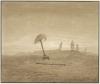 Caspar David Friedrich, Paesaggio con tombe | Landschaft mit Gräbern