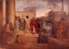 Francesco Hayez, Sant'Ambrogio ricusa l'entrata nel Tempio all'imperatore Teodosio