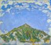 Ferdinand Hodler, Il monte Niesen visto da Heustrich | Der Niesen vom Heustrich aus