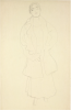 Gustav Klimt, Donna in piedi (Studio per Friederike Maria Beer)