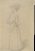 Gustav Klimt, Giovane donna in abito da strada | Junge Frau im Strassenkleid