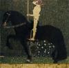 Gustav Klimt, La vita è una lotta (Il cavaliere d'oro) | Life is a struggle (Golden rider)