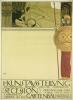 Gustav Klimt, Manifesto della I Mostra della Secessione [versione non censurata][formato grande]
